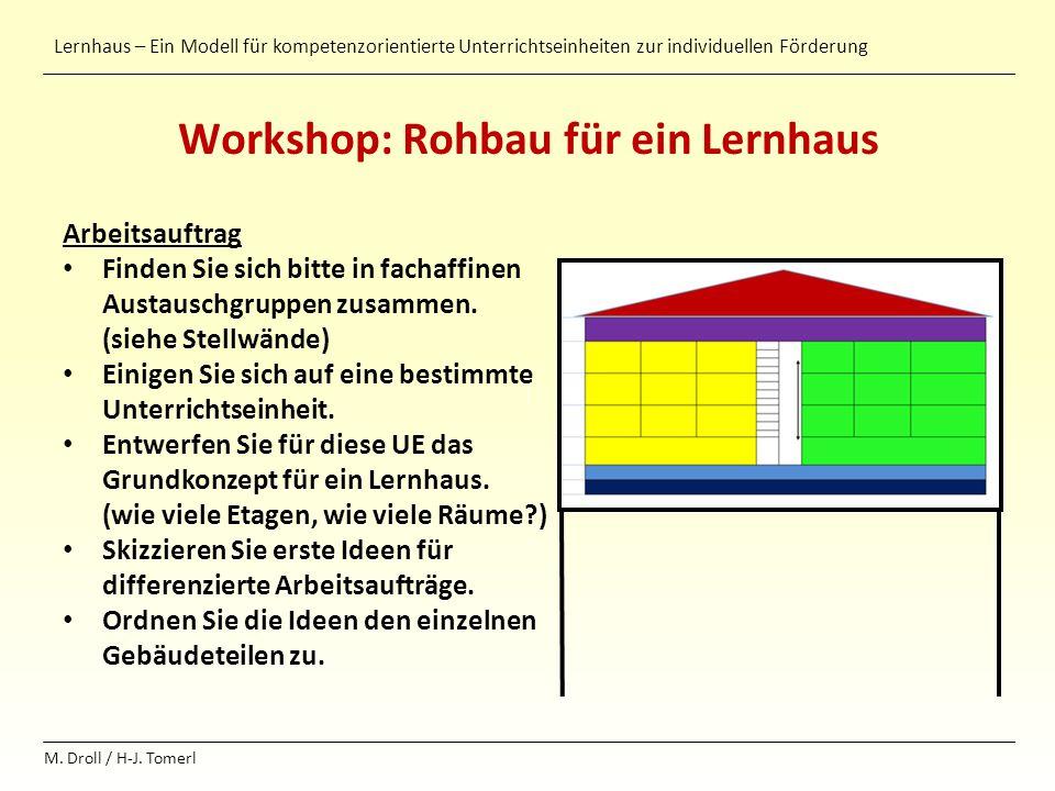 Workshop: Rohbau für ein Lernhaus