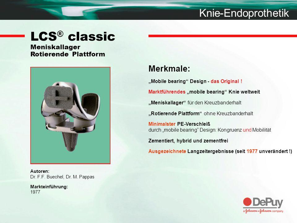 LCS® classic Meniskallager Rotierende Plattform