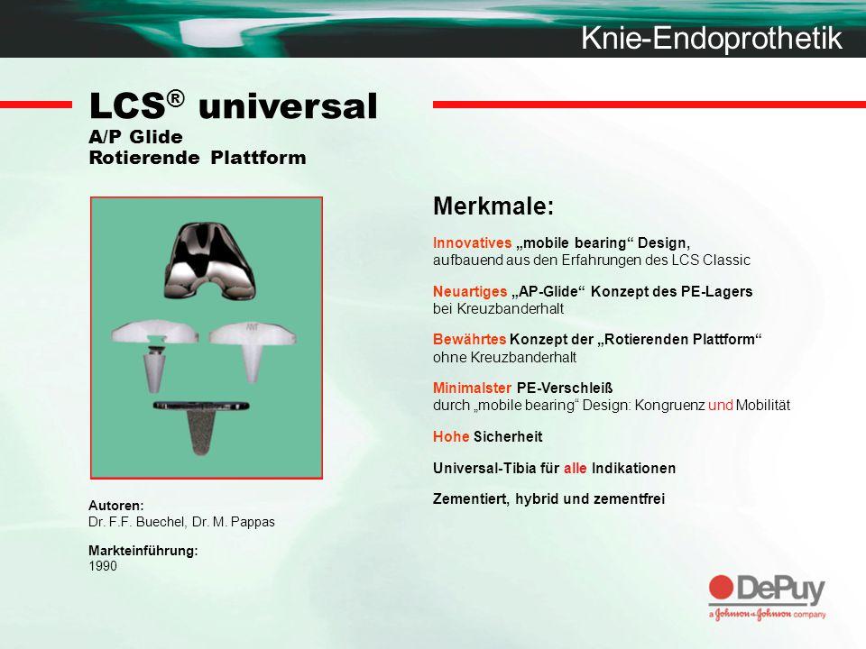 LCS® universal A/P Glide Rotierende Plattform