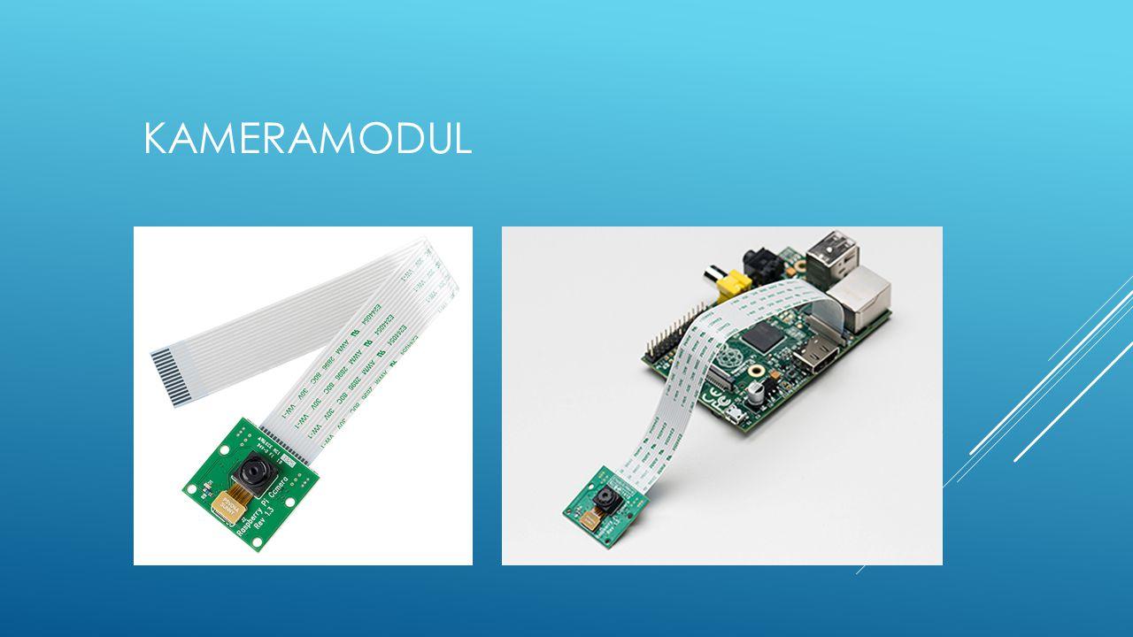 KameraModul Insgesamt so groß wie SD Karte, Linse wie Erbse