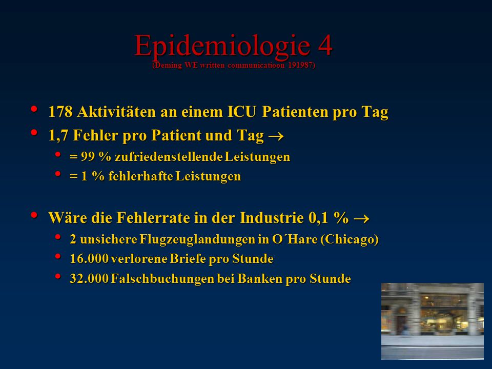 Epidemiologie 4 (Deming WE written communicatioon 191987)
