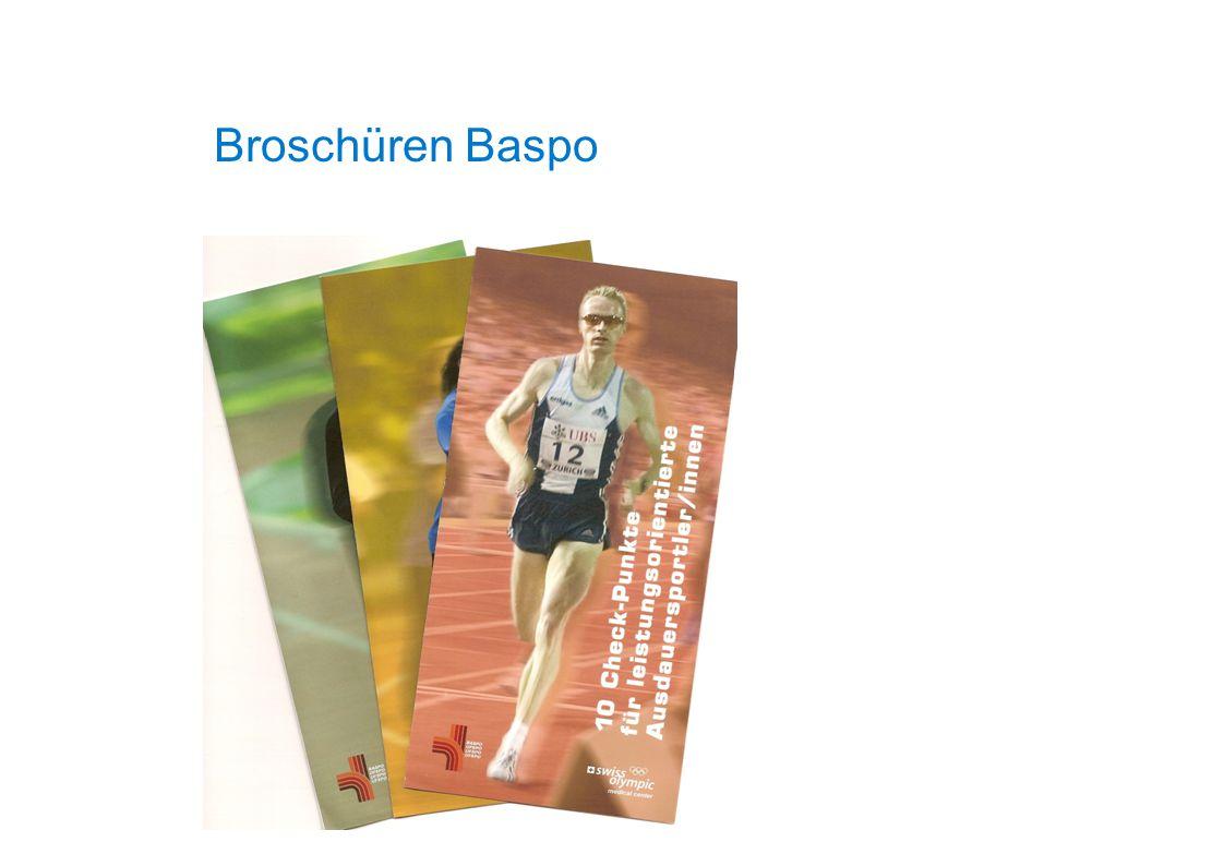 Broschüren Baspo