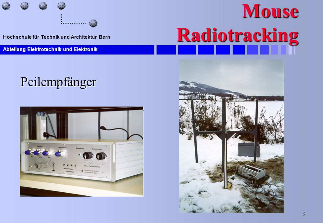 Mouse Radiotracking Peilempfänger