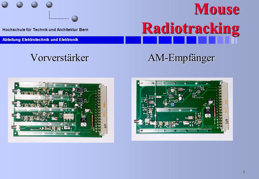 Mouse Radiotracking Vorverstärker AM-Empfänger
