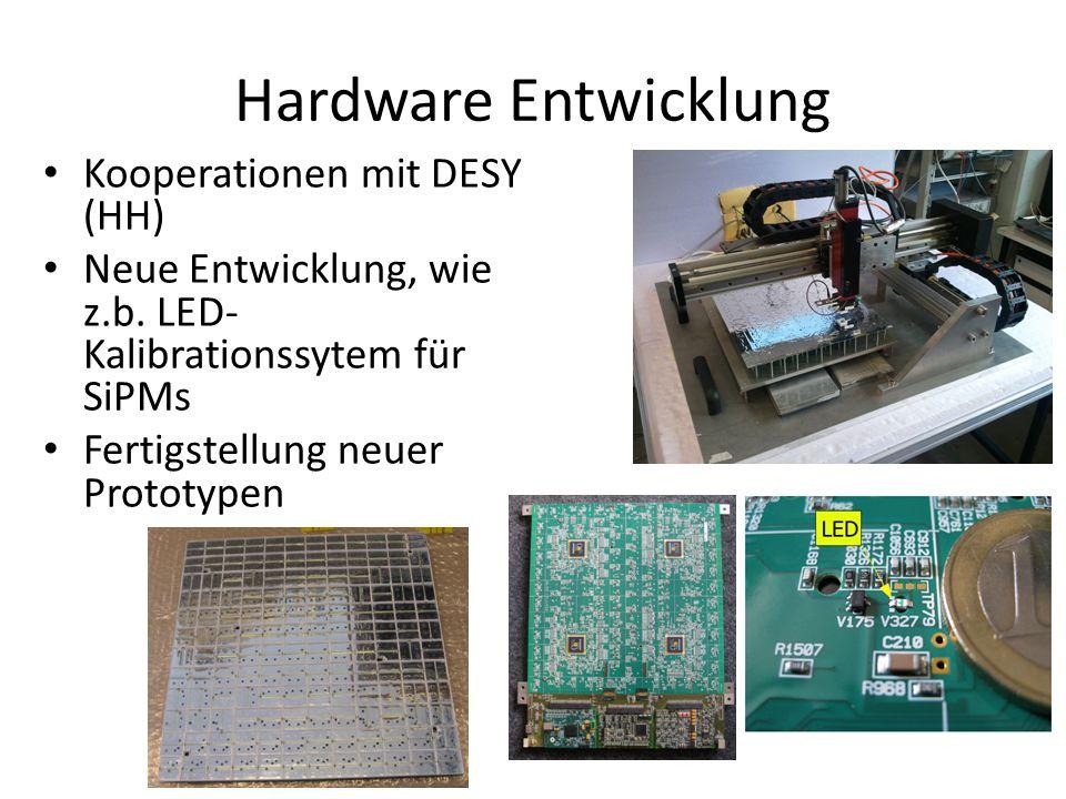 Hardware Entwicklung Kooperationen mit DESY (HH)