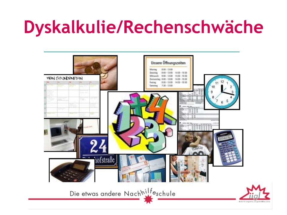 Dyskalkulie/Rechenschwäche