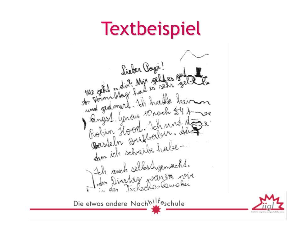 Textbeispiel