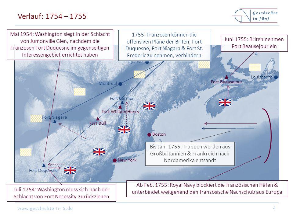 Juni 1755: Briten nehmen Fort Beausejour ein