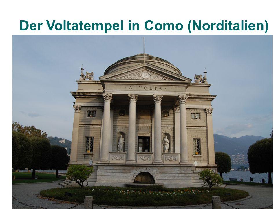 Der Voltatempel in Como (Norditalien)