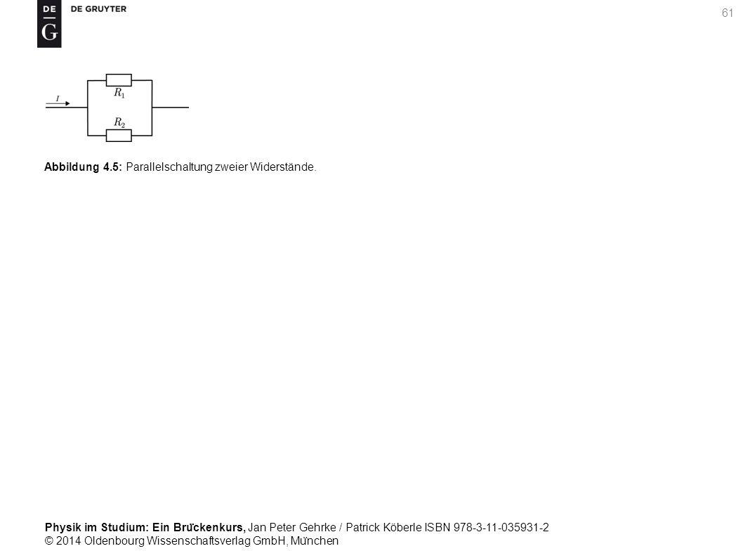 Abbildung 4.5: Parallelschaltung zweier Widerstände.