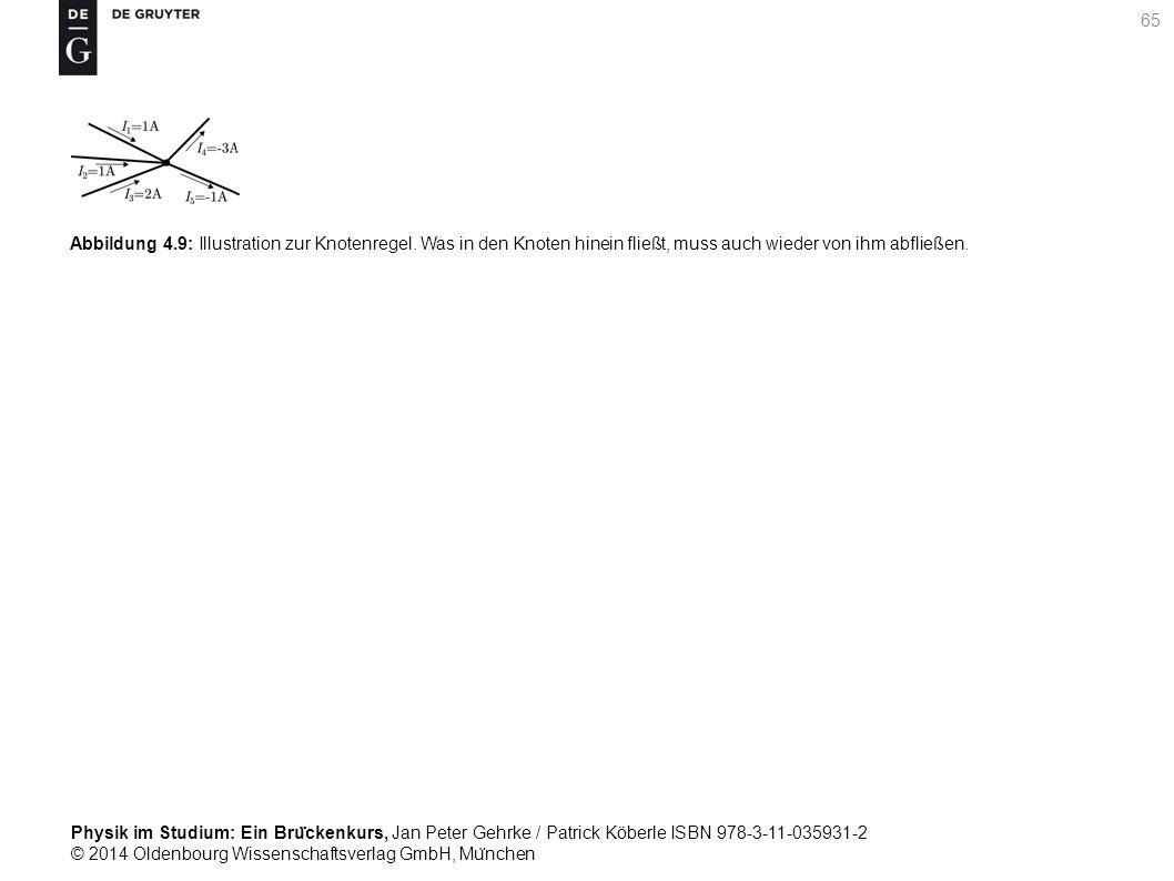 Abbildung 4. 9: Illustration zur Knotenregel