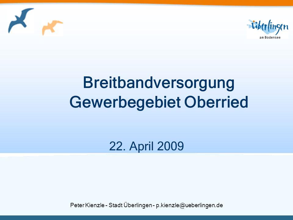 Breitbandversorgung Gewerbegebiet Oberried