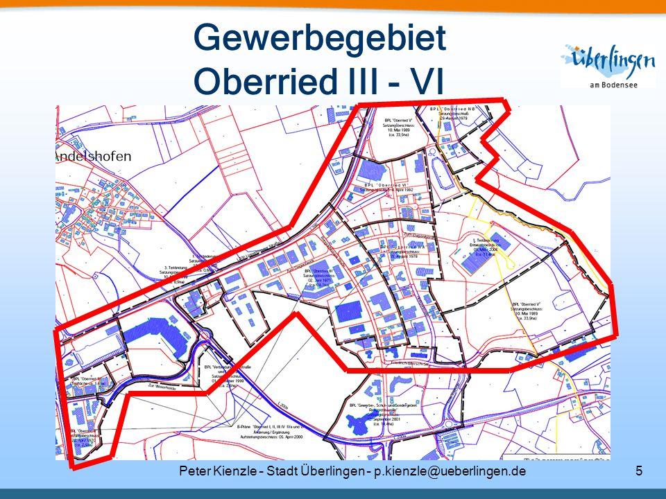 Gewerbegebiet Oberried III - VI