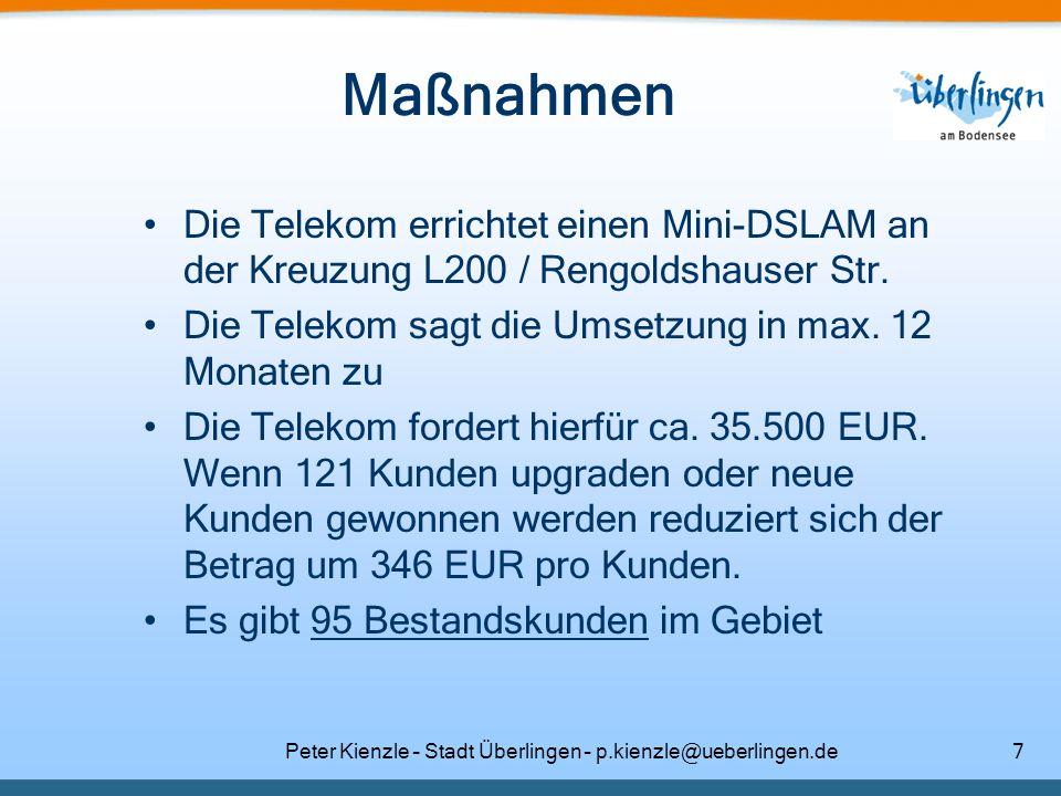Peter Kienzle – Stadt Überlingen – p.kienzle@ueberlingen.de