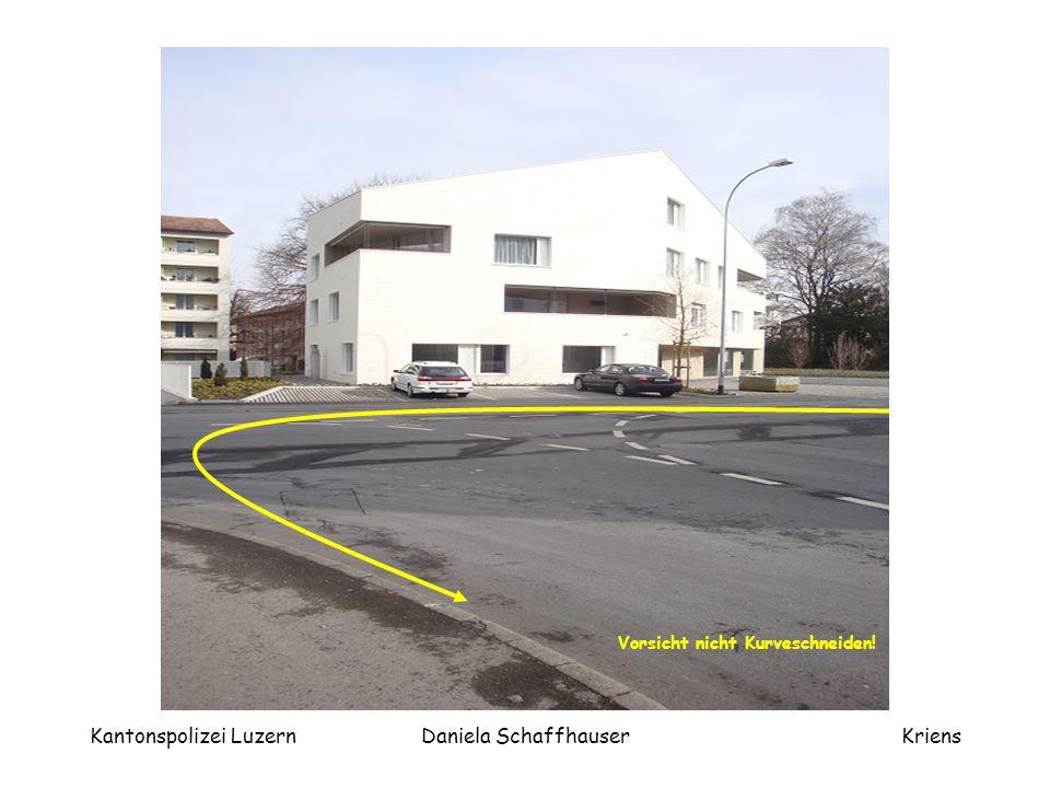 Kantonspolizei Luzern Daniela Schaffhauser
