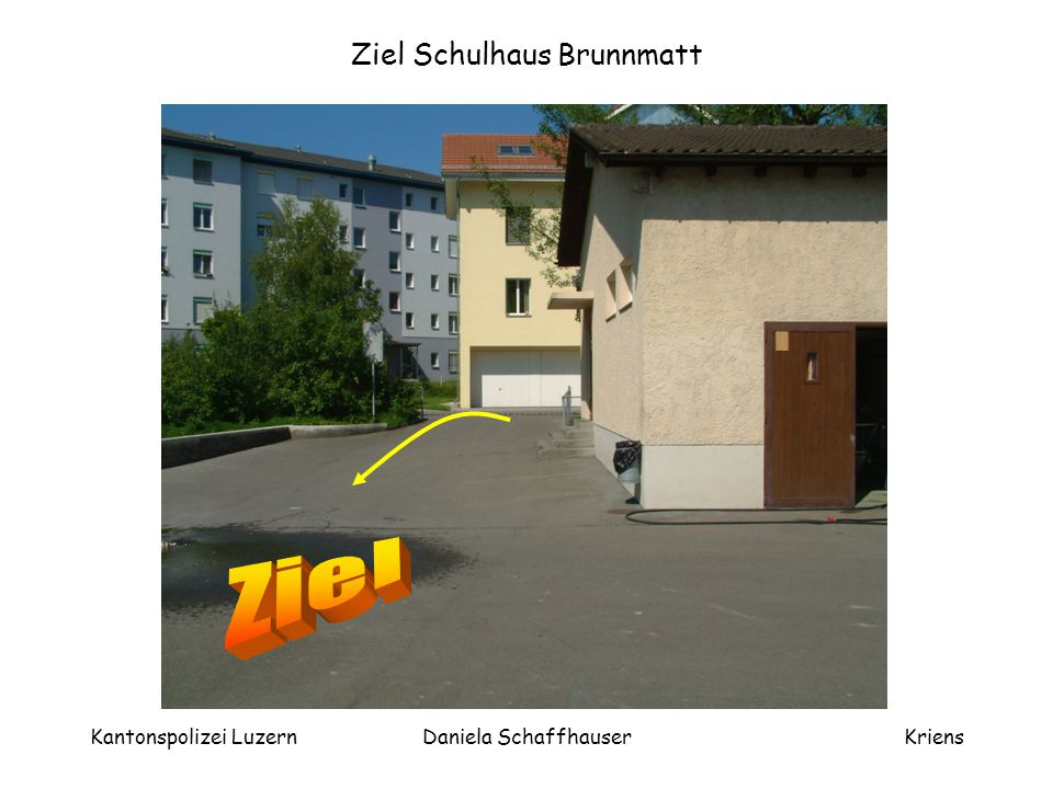 Ziel Schulhaus Brunnmatt