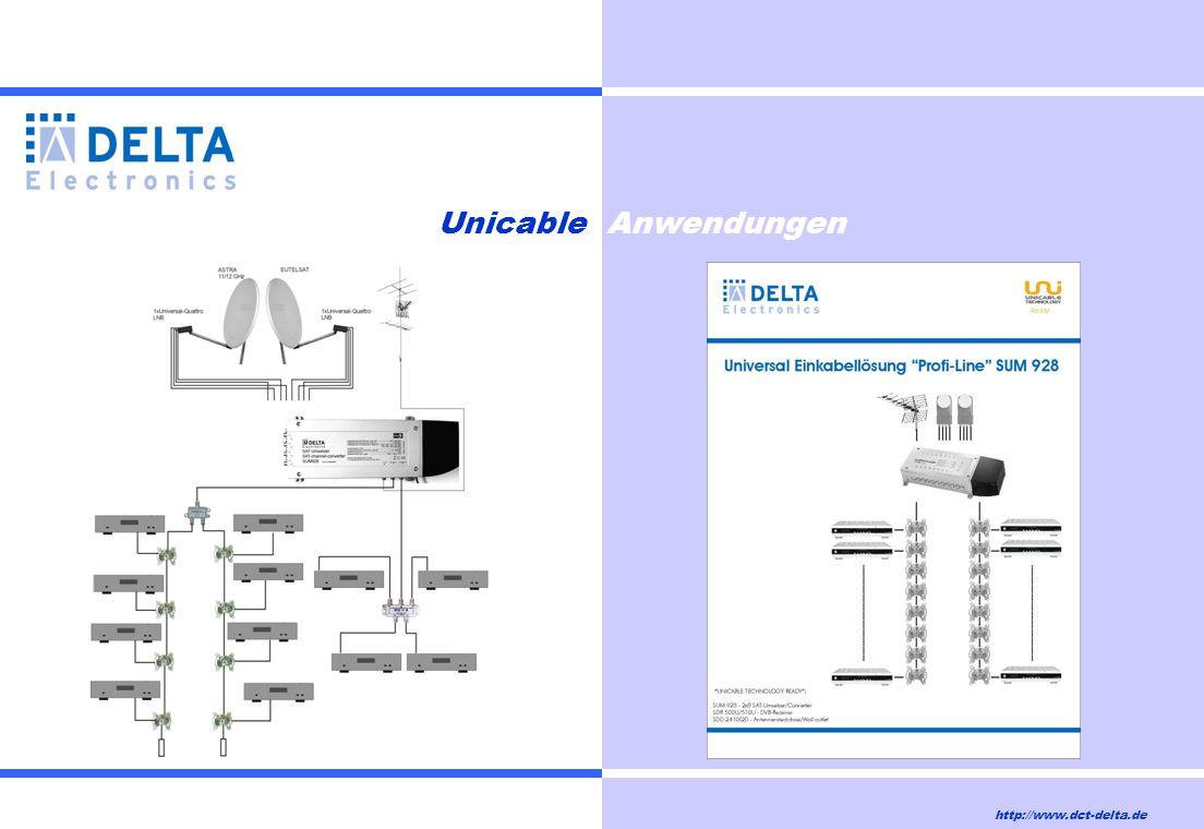 Unicable Anwendungen http://www.dct-delta.de