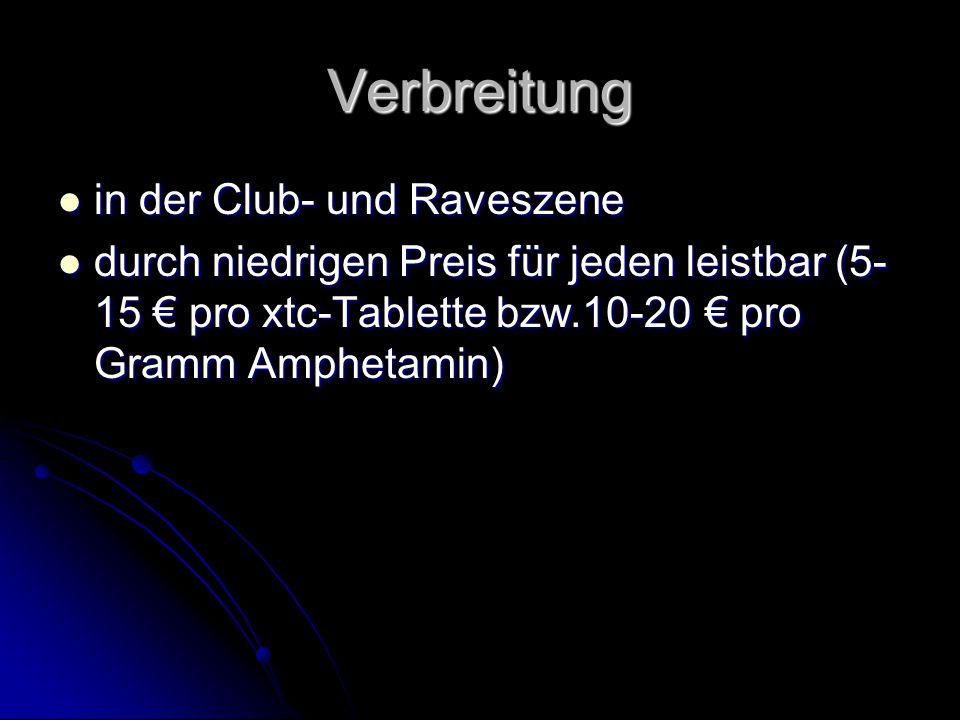 Verbreitung in der Club- und Raveszene