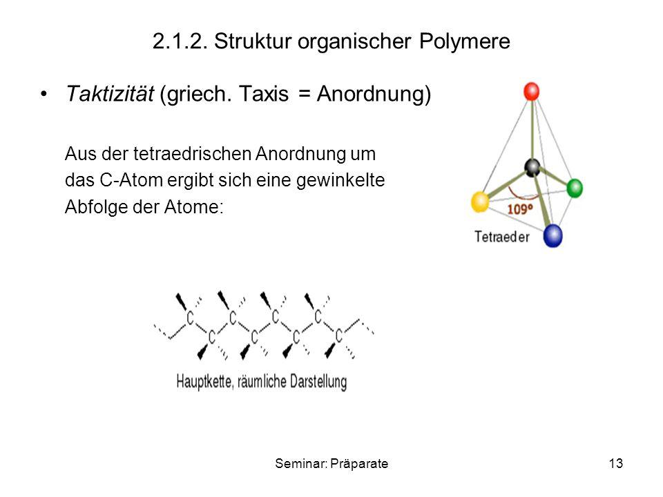 2.1.2. Struktur organischer Polymere