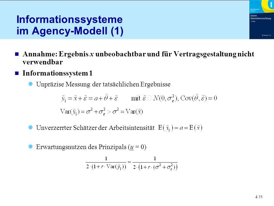 Informationssysteme im Agency-Modell (1)