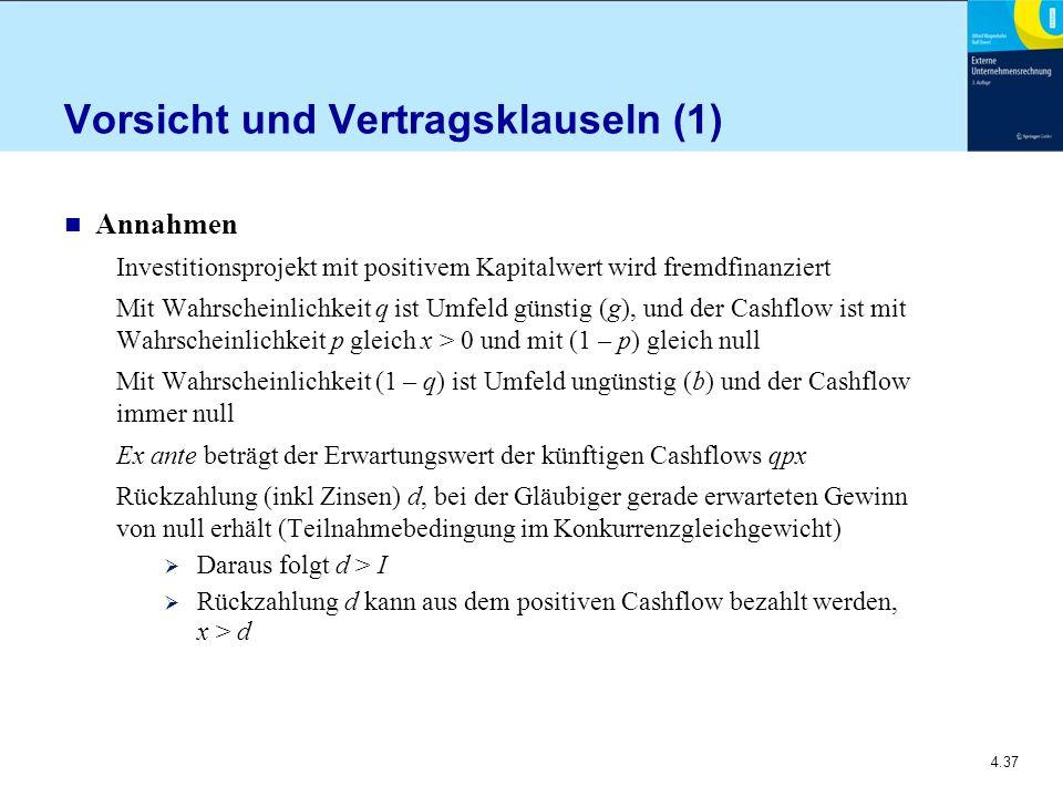 Vorsicht und Vertragsklauseln (1)