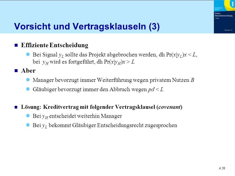 Vorsicht und Vertragsklauseln (3)