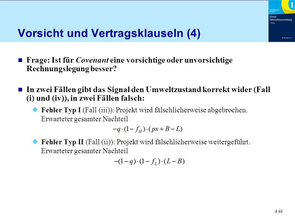 Vorsicht und Vertragsklauseln (4)
