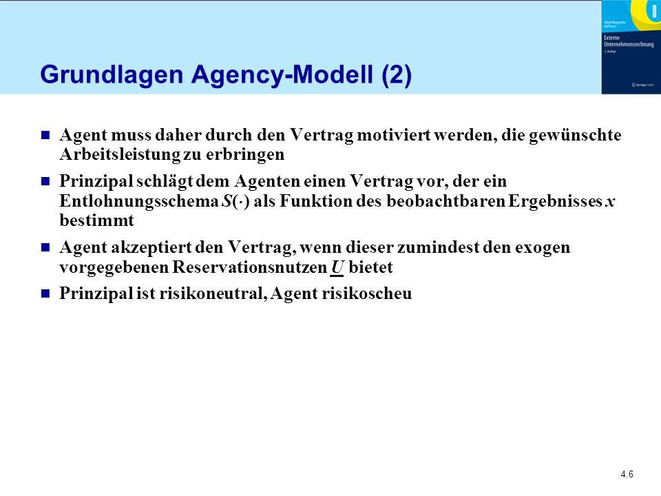 Grundlagen Agency-Modell (2)