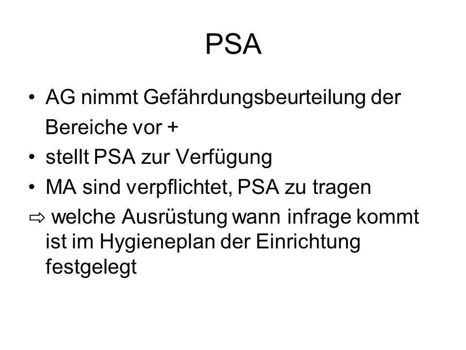 PSA AG nimmt Gefährdungsbeurteilung der Bereiche vor +