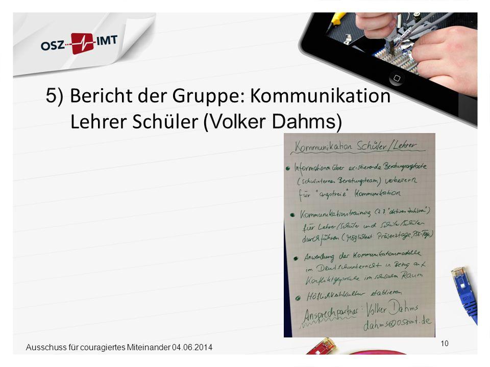 Lehrer Schüler (Volker Dahms)