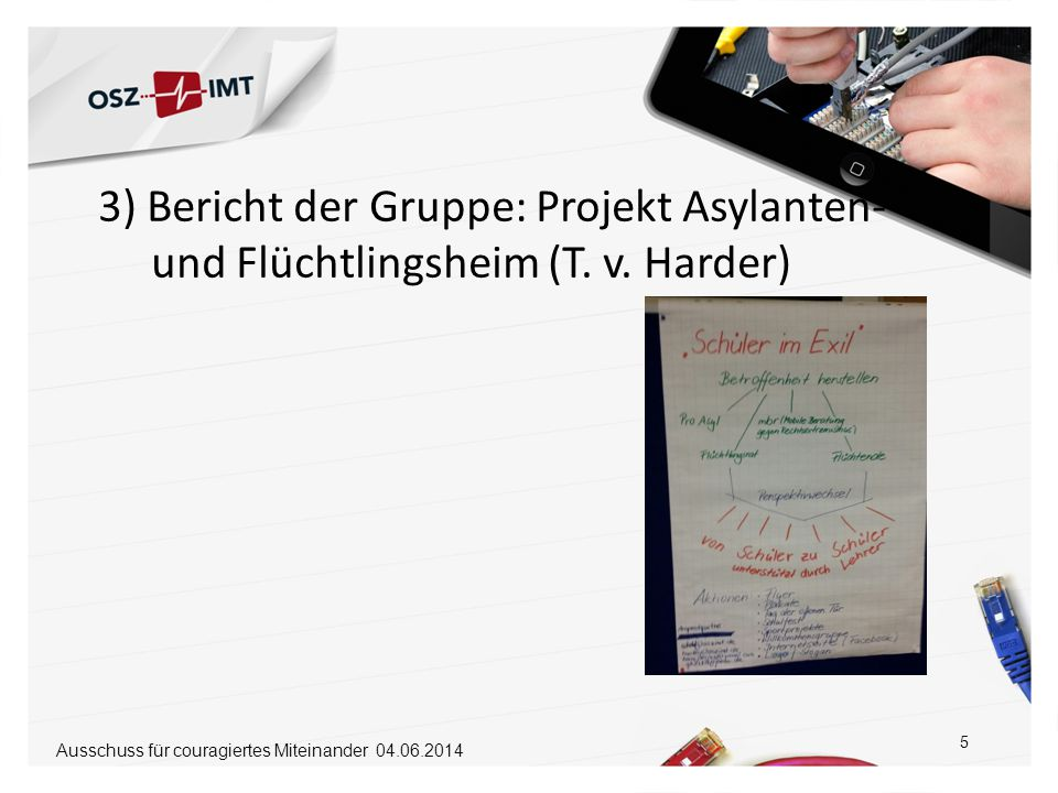 """zur 2. Sitzung des Ausschusses für """"couragiertes Miteinander"""" - ppt ..."""