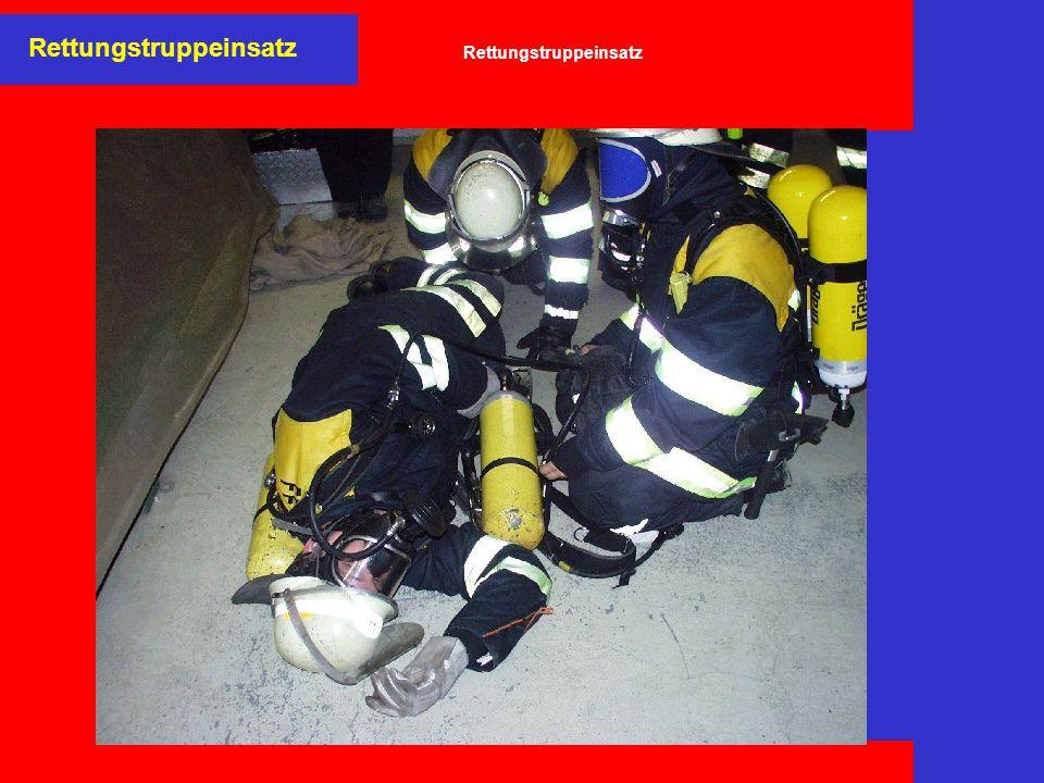 Rettungstruppeinsatz