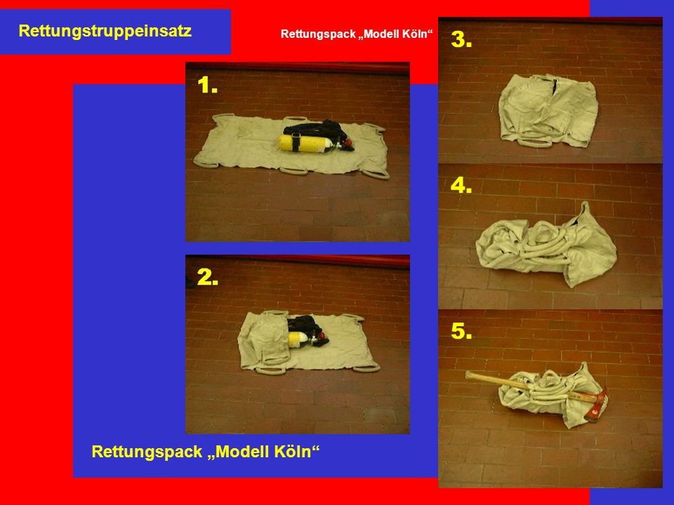 "Rettungspack ""Modell Köln"