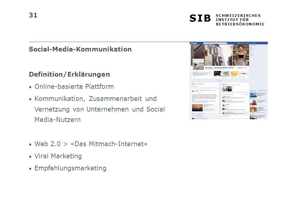 Social-Media-Kommunikation