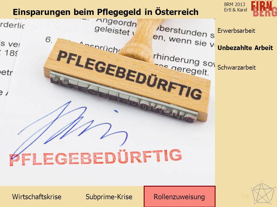 Einsparungen beim Pflegegeld in Österreich