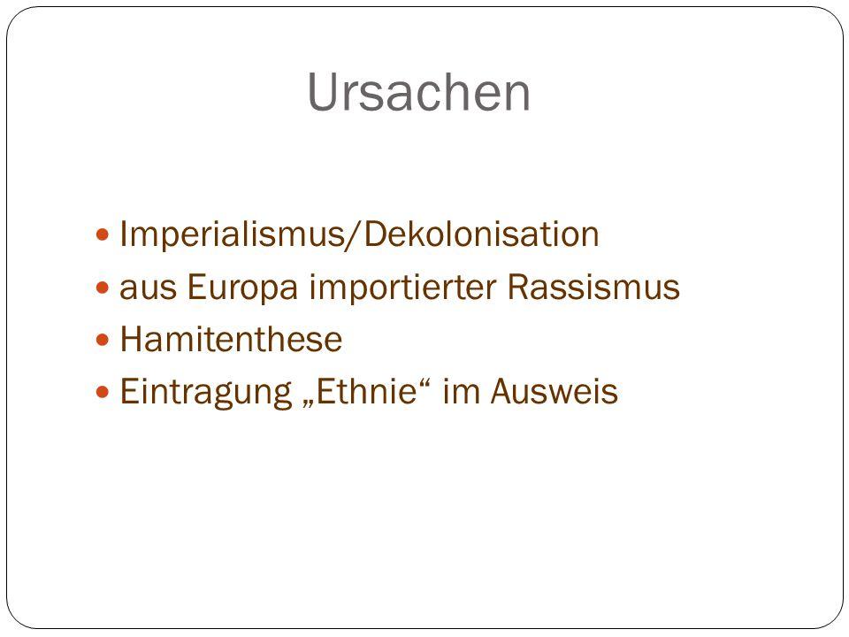Ursachen Imperialismus/Dekolonisation