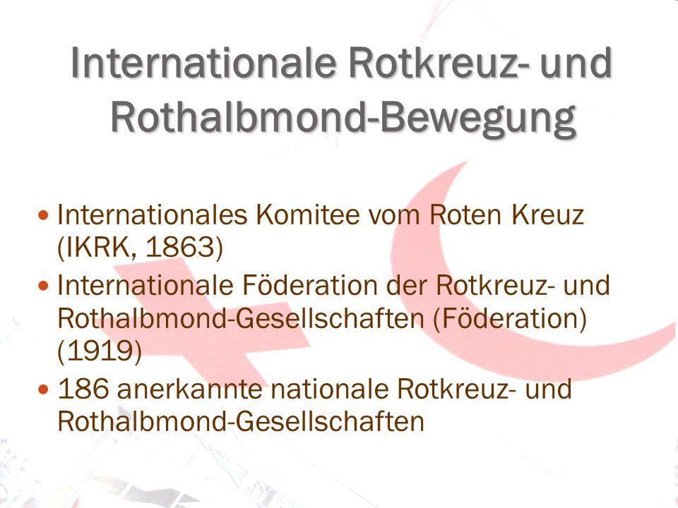 Internationale Rotkreuz- und Rothalbmond-Bewegung