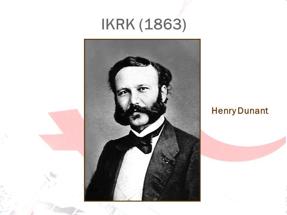 IKRK (1863) Henry Dunant