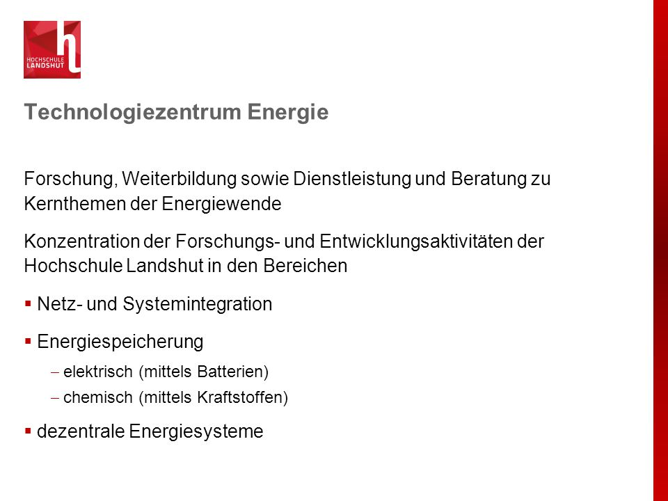 Technologiezentrum Energie