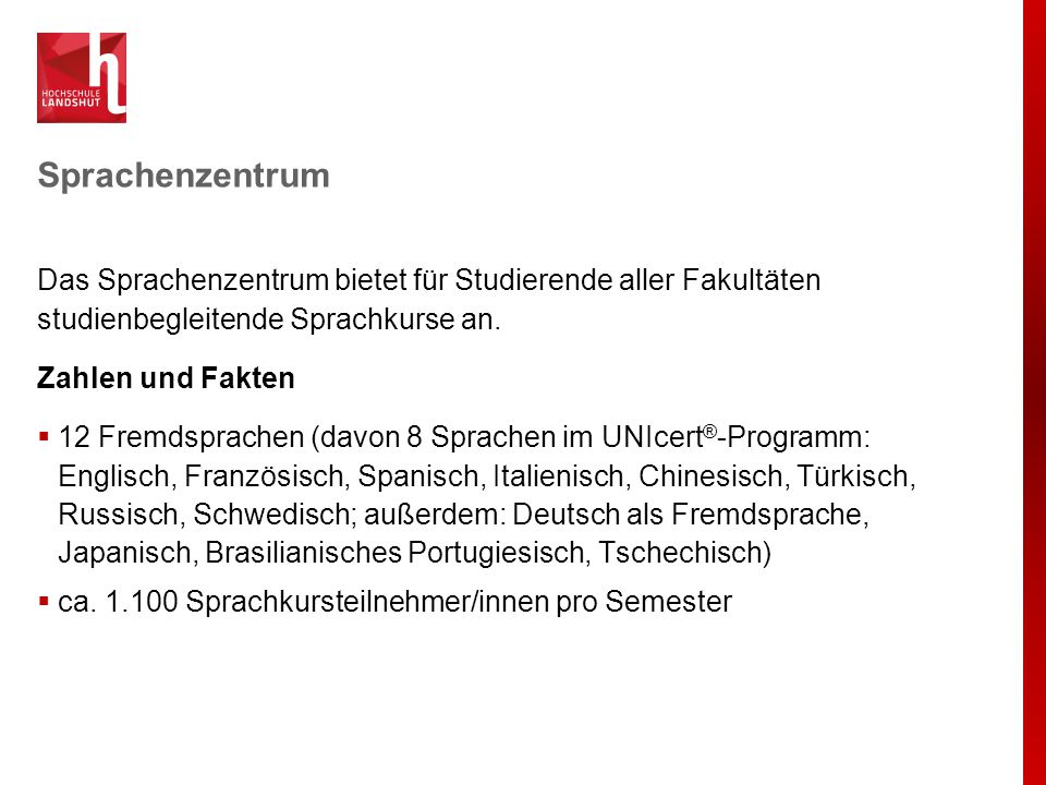 Sprachenzentrum Profil