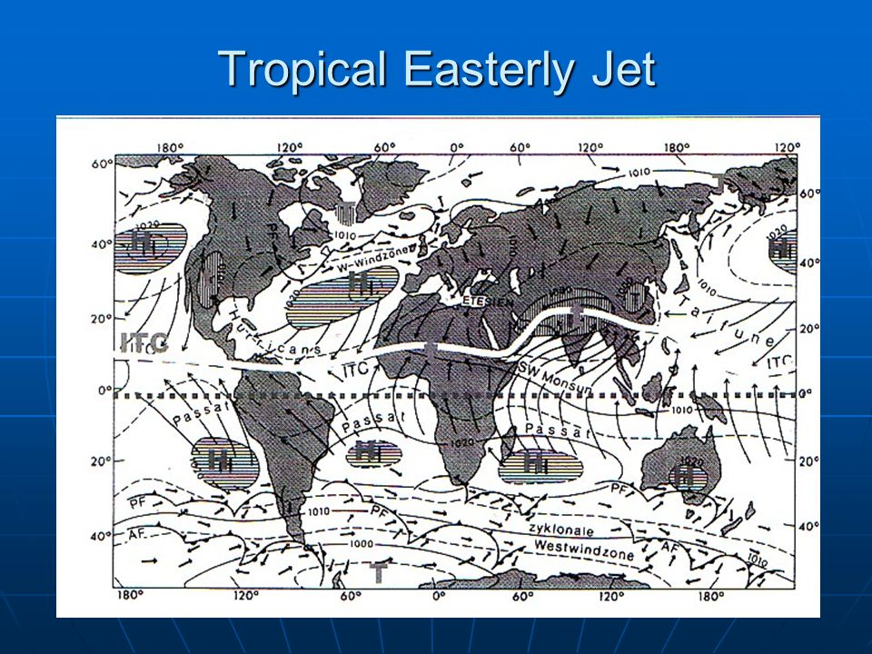 Tropical Easterly Jet
