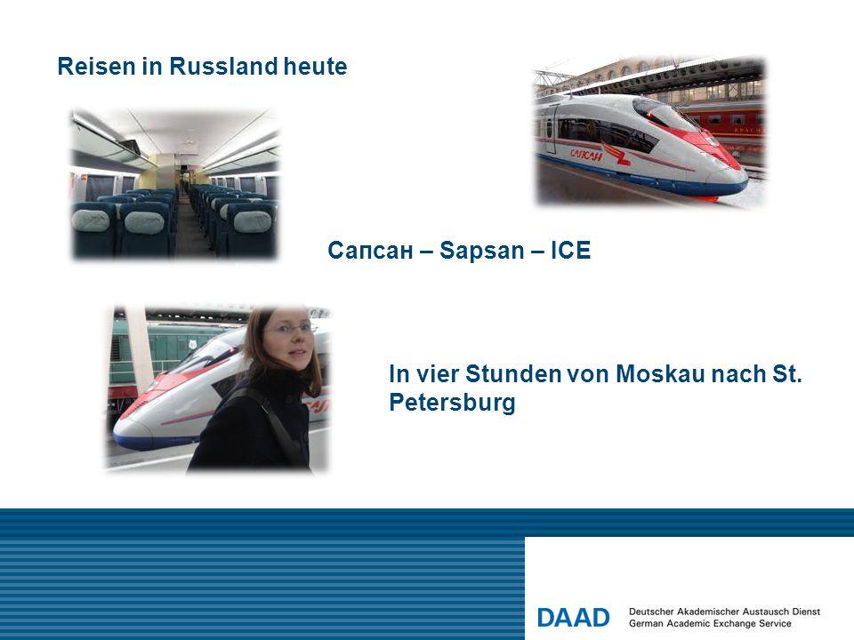 Reisen in Russland heute