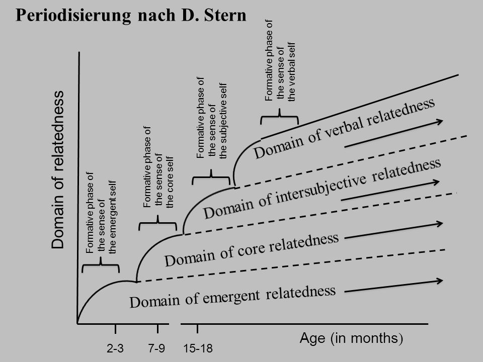 Periodisierung nach D. Stern