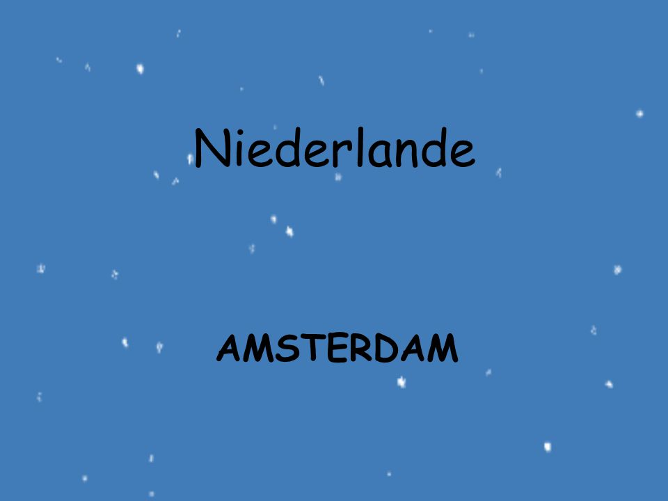 Niederlande amsterdam