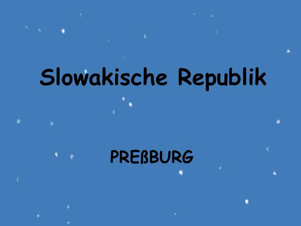 Slowakische Republik Preßburg