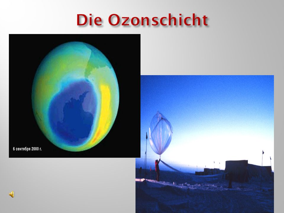 Die Ozonschicht
