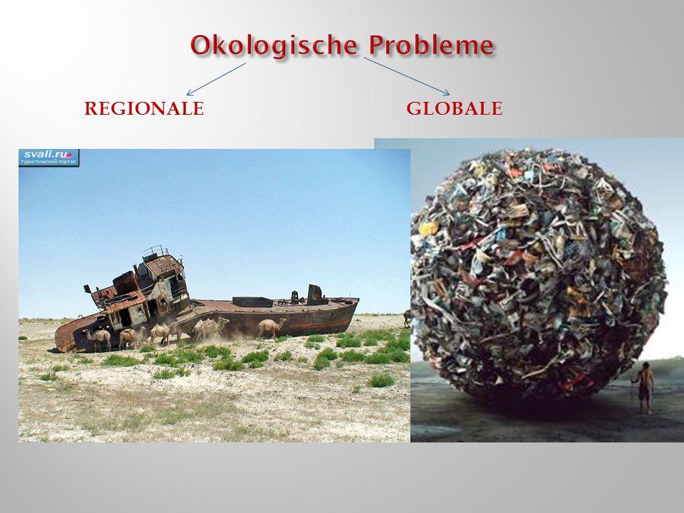 Okologische Probleme Regionale globale