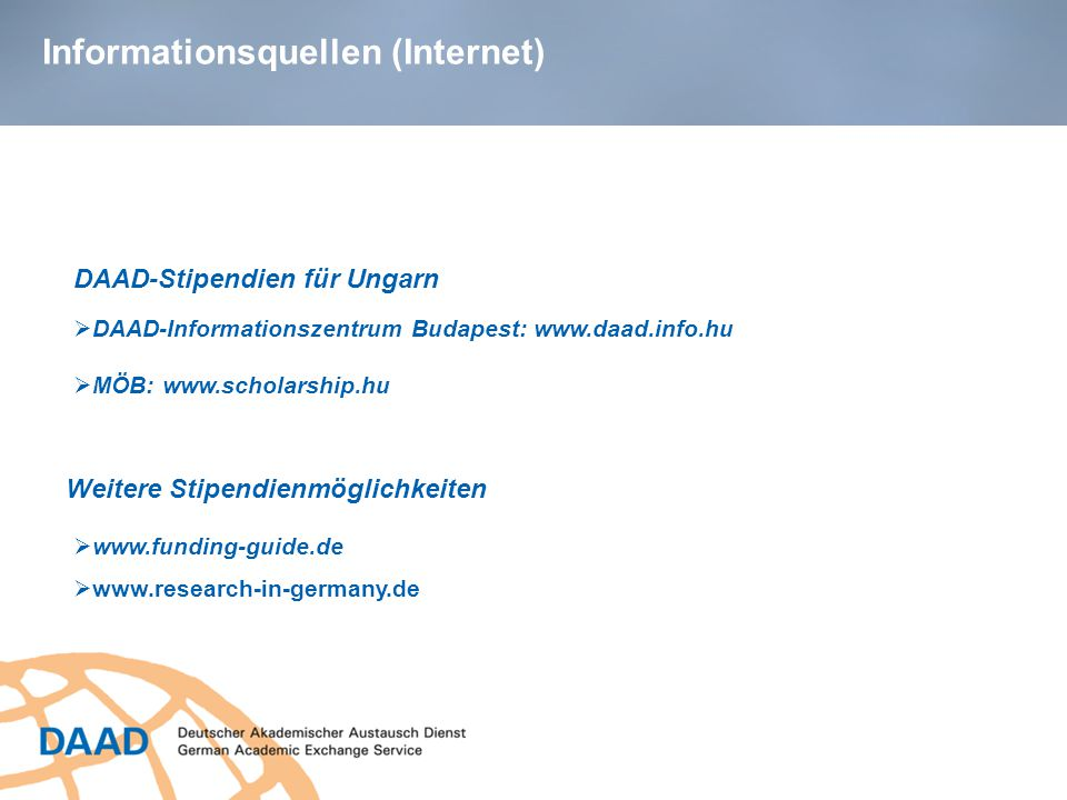 Informationsquellen (Internet)