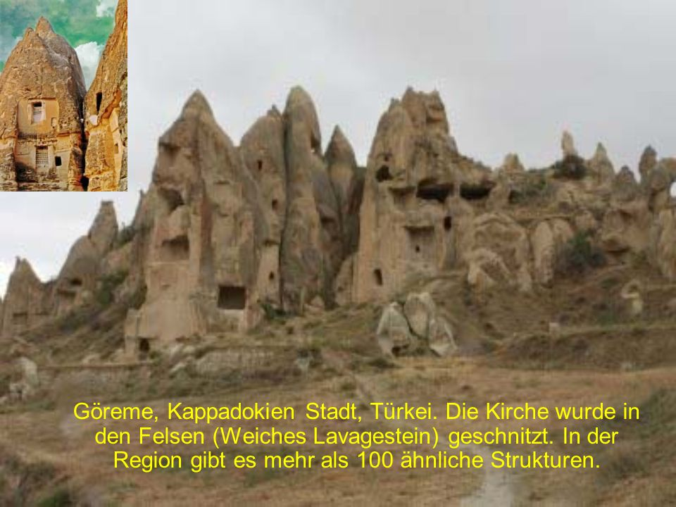 Göreme, Kappadokien Stadt, Türkei
