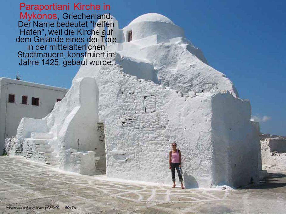 Paraportiani Kirche in Mykonos, Griechenland